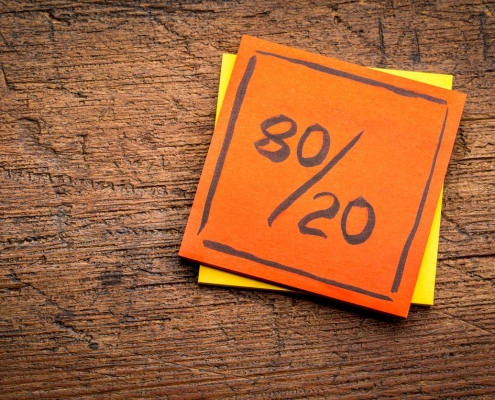 How to Practice the Pareto Principle on providentcpas.com